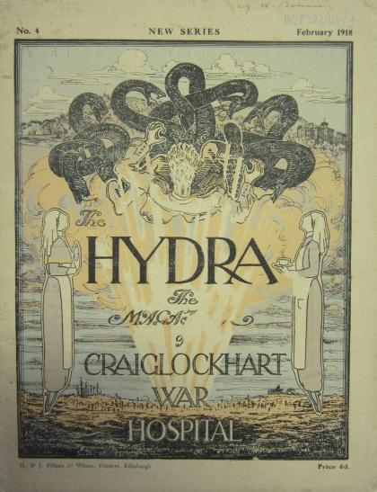 Hydra magazine cover, February 1918